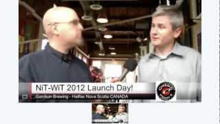 Launch & Chat Garrison Brewing 2012 Nit-wit Belgian Style Wheat Beer
