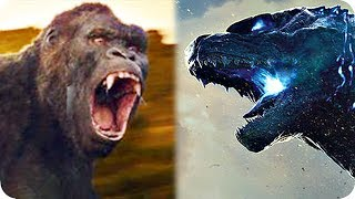 GODZILLA VS. KONG Movie Preview (2020) What Is the MONSTERVERSE?
