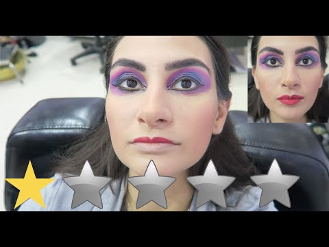I WENT TO THE WORST REVIEWED MAKEUP ARTIST IN MY CITY !