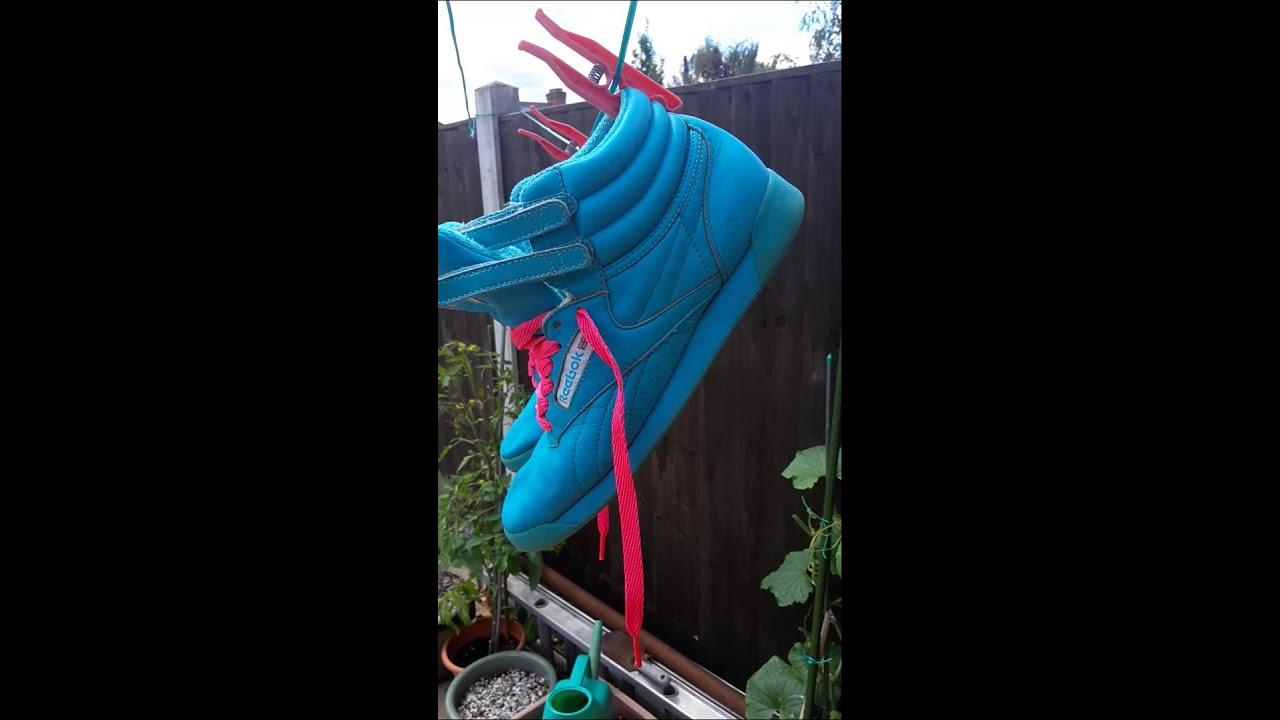 62e11c701da1 Baby blue Reebok freestyle from dead1rollin - YouTube