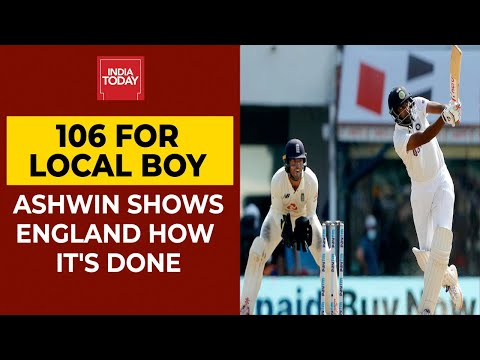 India Vs England: Heroic R Ashwin Puts India On Cusp Of Massive Victory Over England In Chennai