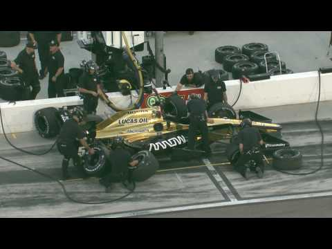 IndyCar Open Test at Phoenix International Raceway Session 2
