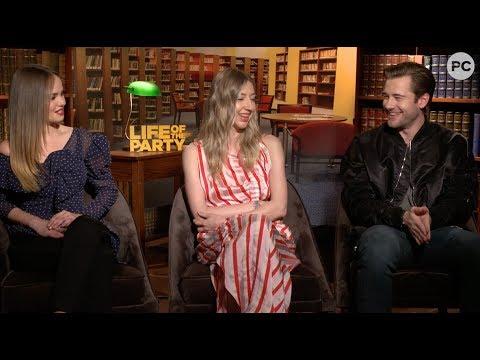 Debby Ryan, Heidi Gardner & Luke Benward Talk Life of the Party