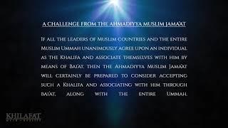 Will the Muslim Community unite under 1 Caliph?