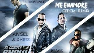 Angel & Khriz Ft. Tito 'El Bambino' y Elvis Crespo - Me Enamore (Official Remix)