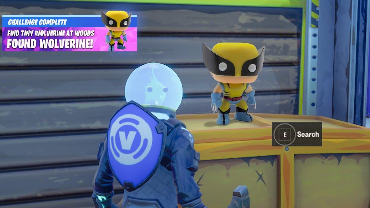 Fortnite Boss Doctor Doom Secret Wolverine Reward