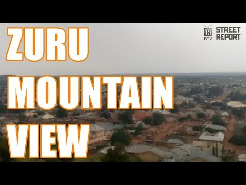 View from Zuru Mountain Kebbi State Nigeria