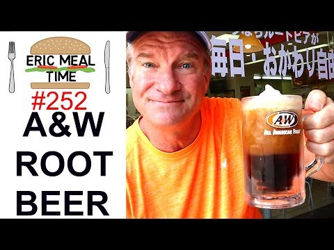 A&W ROOTBEER Burgers & Sandwiches, Japan  Eric Meal Time #252