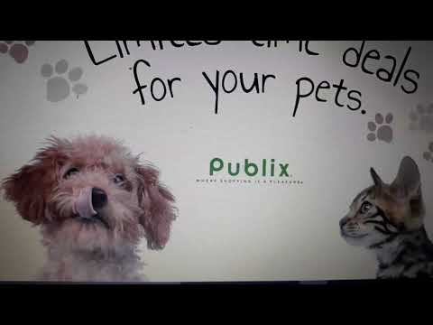 New Publix Printable Pet Book! Coupons and Sales!