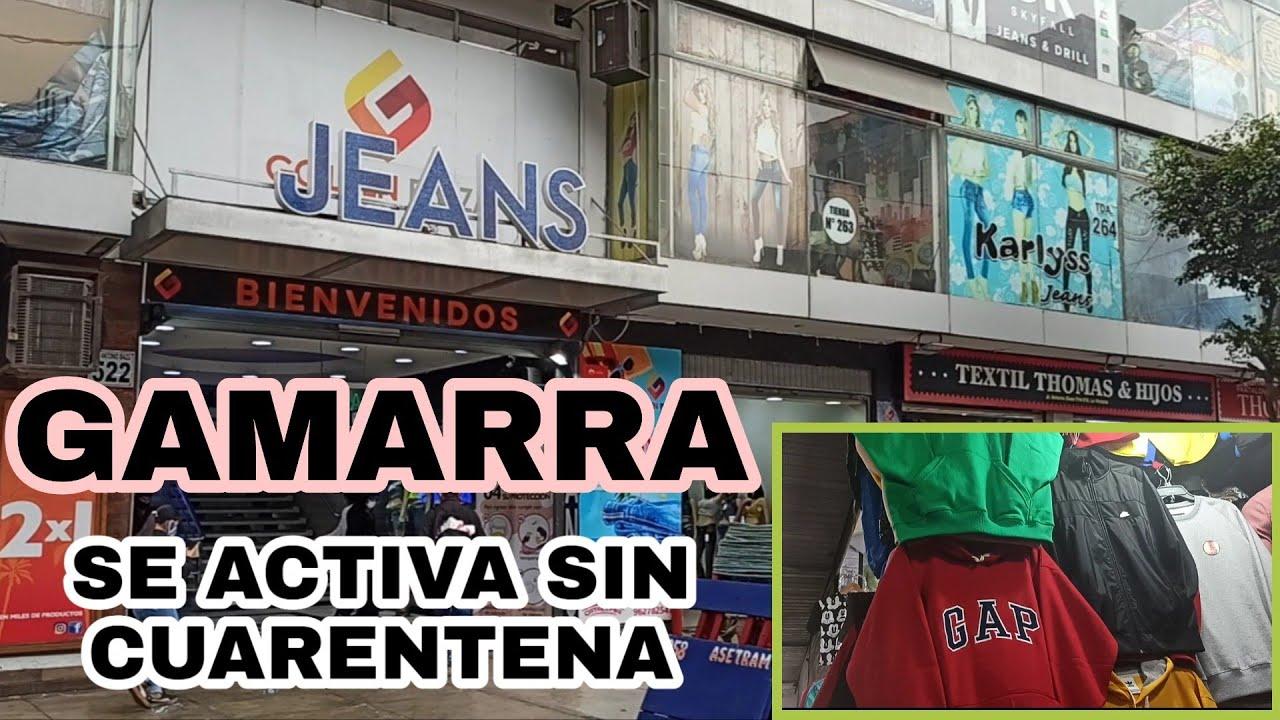 GAMARRA SIN CUERENTENA GALERÍAS REACTIVAN SUS VENTAS AL PÚBLICO A DÍAS DE SU APERTURA 2020