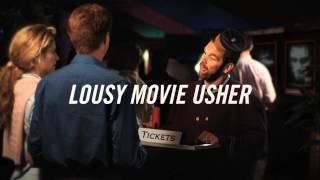 DAN BOYLE / LOUSY MOVIE USHER TV :30