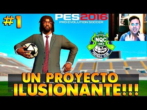 PES 2016 Master League |  MI NUEVO PROYECTO!!! #1