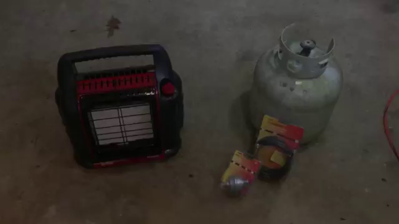 Garage Heater For Dogs Big Buddy Portable Heater 2 Car Garage Test