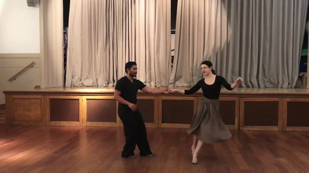 Swing-Nots | Advanced Lindy Hop class with Sharon & Josh | The Wednesday Club 5th September 2018