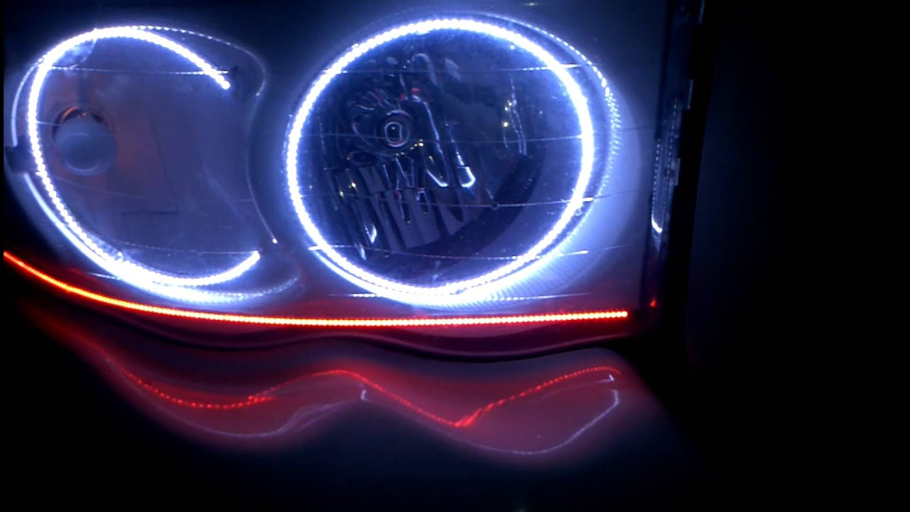 Wonderful AAC Oracle Lights 04 U0026 07 Dodge Ram Halos U0026 Concept Strips By BGN Customs Amazing Pictures