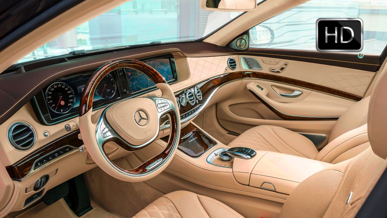 2016 mercedes maybach s600 luxury car interior design hd - Car interior design ...