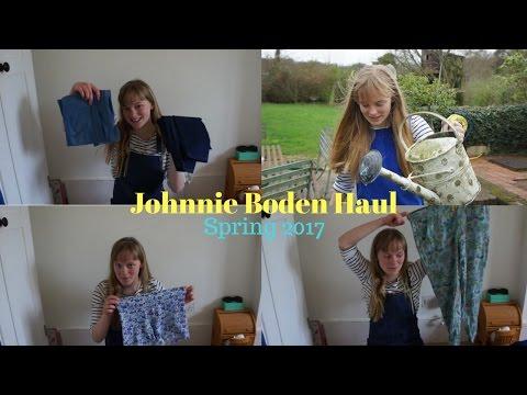 Johnnie Boden Spring Clothing Haul