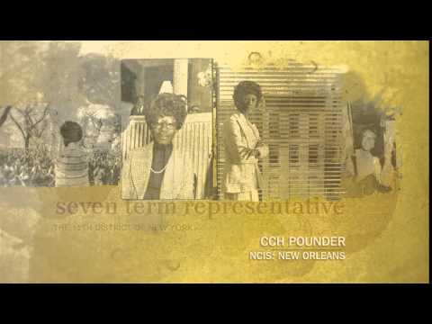 BHM CCH Pounder on Shirley Chisholm CCH15BHSC10 h264