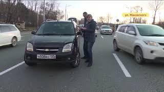 Авария на трассе сковала движение транспорта