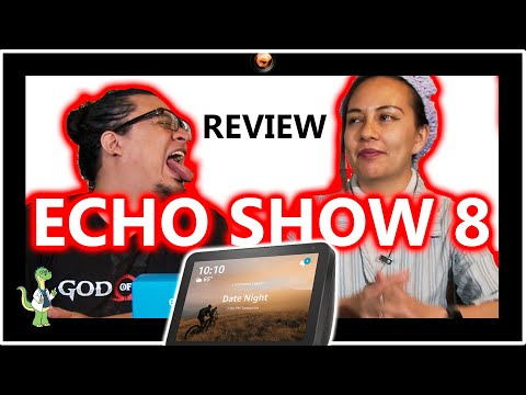 Alexa ECHO SHOW 8 Review en español   Su gran pantalla te apantallará
