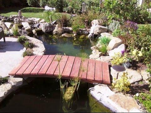 Красивые примеры мостиков для дачи