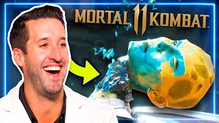 ER Doctor REACTS to Fatalities in Mortal Kombat 11   Experts React