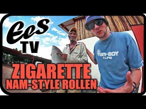 """""""Zigarette aus Zeitungspapier rollen"""" - EES TV"""