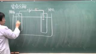 【化学】酸化還元反応⑬(1of2)~電気分解~
