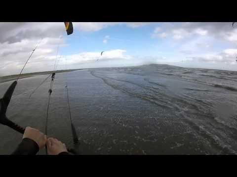kitesurfing Dollymount May 2015