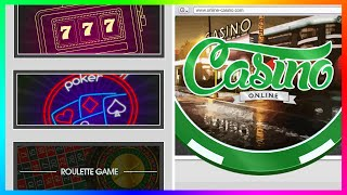 GTA 5 Amazing Casino Project Concept & What Gambling, Poker + More Might Look Like In GTA Online!