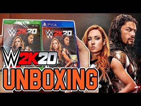 WWE 2K20 (PS4/Xbox One) Unboxing