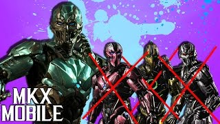 НАГИБАЕТ ЛИ КИБЕР САБ-ЗИРО БЕЗ ТРИБОРГОВ • Mortal Kombat X Mobile