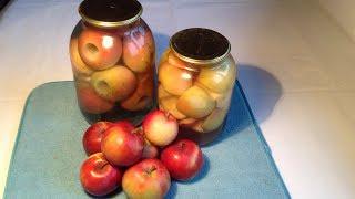 239. Яблоки на зиму в банках.  Просто и вкусно!