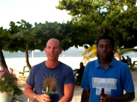 Jeff, The Travel Squire, in Tobago