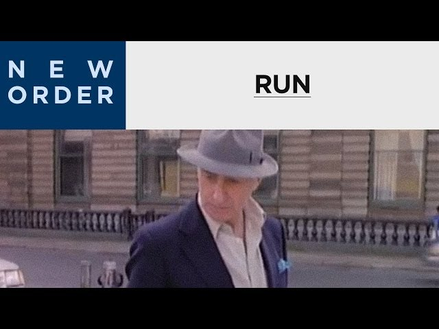 New Order - Run [OFFICIAL MUSIC VIDEO]
