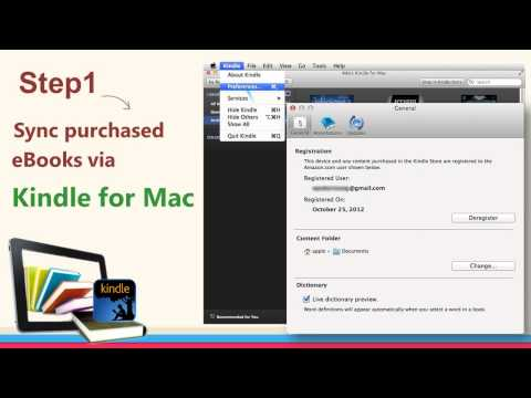 How to remove Kindle DRM on Mac - YouTube