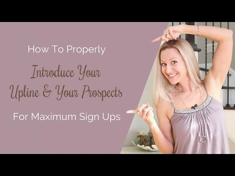 Network Marketing Tips How To Properly Edify Your...