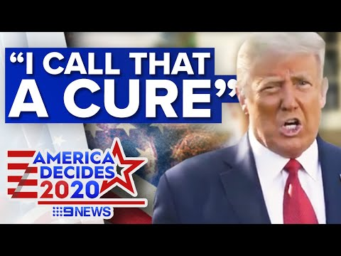 Donald Trump claims Regeneron could cure COVID-19   9 News Australia