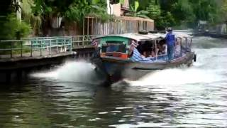 ***Longtail boat on klongs*** Funny, easy, Cheap, nice Bangkok travel Thaïland trip and shopping