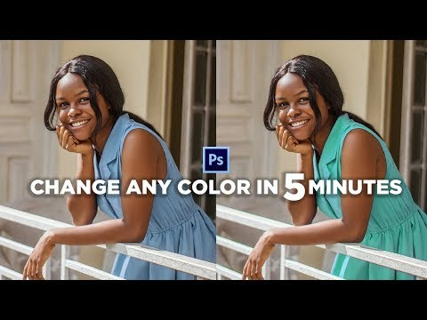 How to change ANY COLOR in Photoshop | Photoshop Tutorial thumbnail