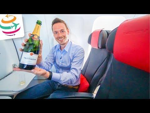 Air France Business Class A321 | GlobalTraveler.TV
