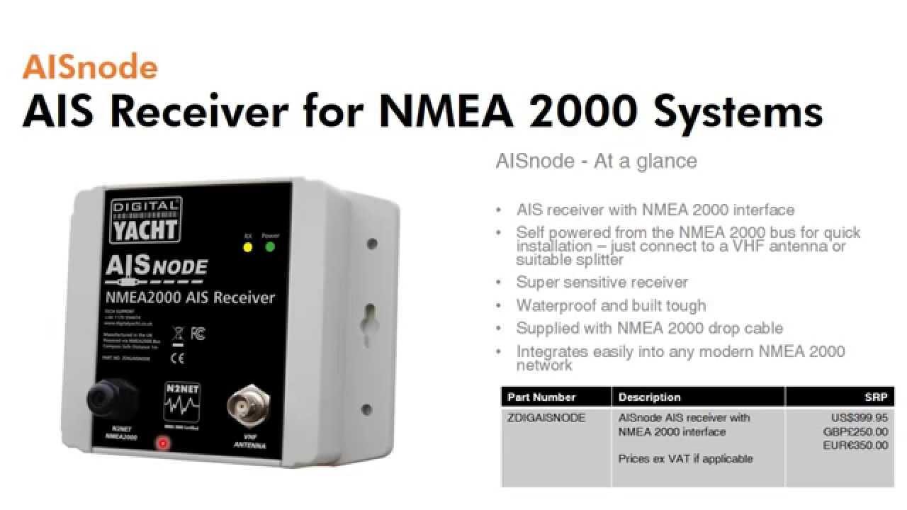 AISnode - NMEA 2000 AIS Receiver Presentation