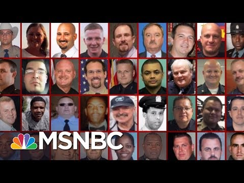 Police Killed By Guns In Line Of Duty Declining: Report | Morning Joe | MSNBC