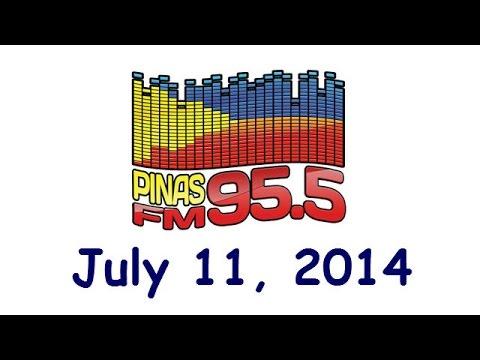 """2014 DWDM 95.5MHz """"Pinas FM 955"""" via Sporadic E"""