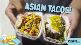 We Made Asian Tacos! - TASTE TEST w/ Hudson Yang Ep. 3