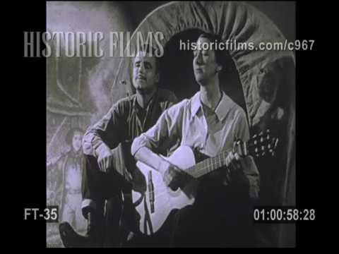 "CYNTHIA GOODING & CISCO HOUSTON ""Bound For The Promised Land"" 1960"