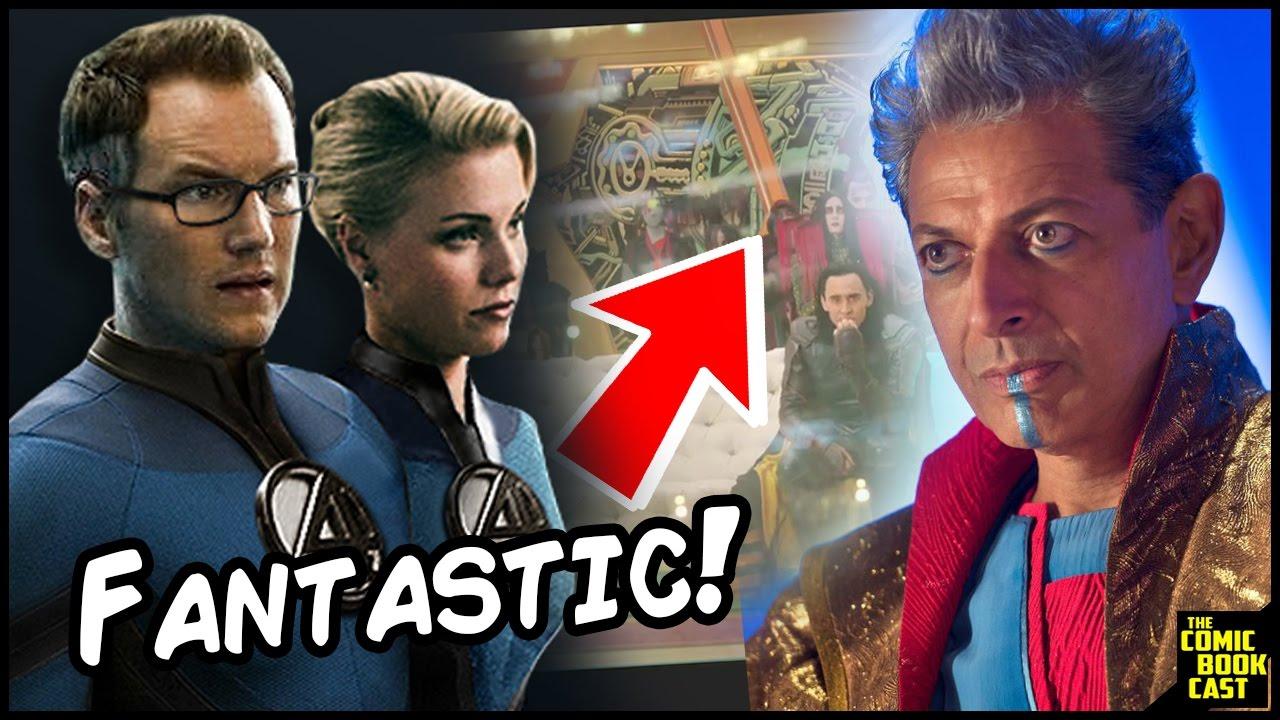 Fantastic Four Comic Easter Egg in Thor Ragnarok Trailer ...