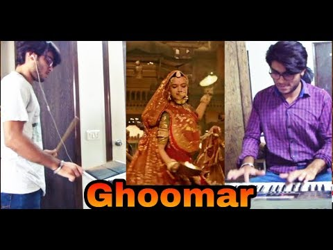 Ghoomar Cover With Keyboard Octapad Instrumental | Padmaavat | Ghoomar patch Roland Octapad Spd 30