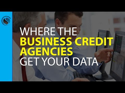 Where the Business Credit Agencies Get Your Data