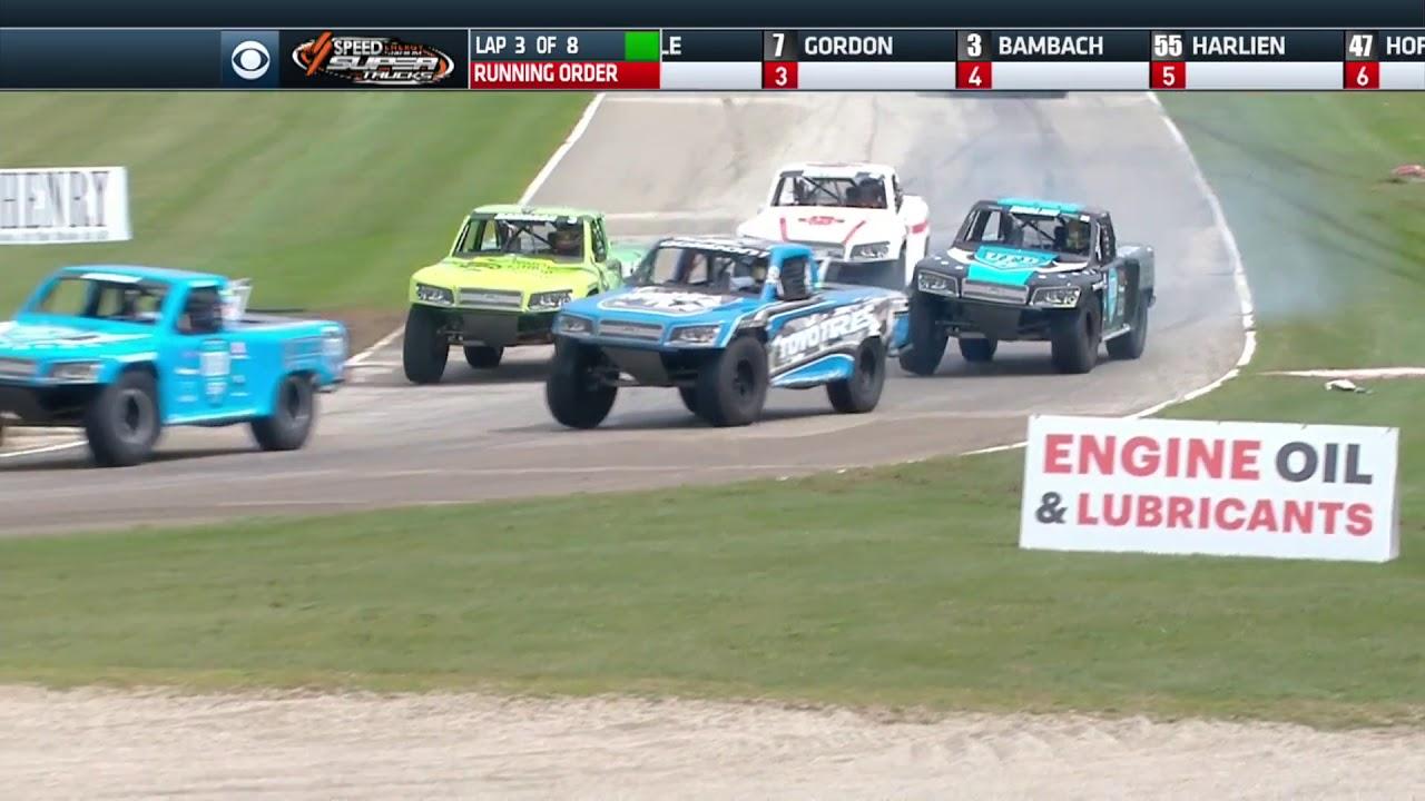 2018 Road America - Stadium SUPER Trucks - CBS Sports Network